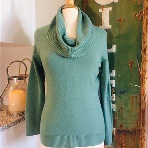 New York & Co Cowl Neck Lightweight Sweater